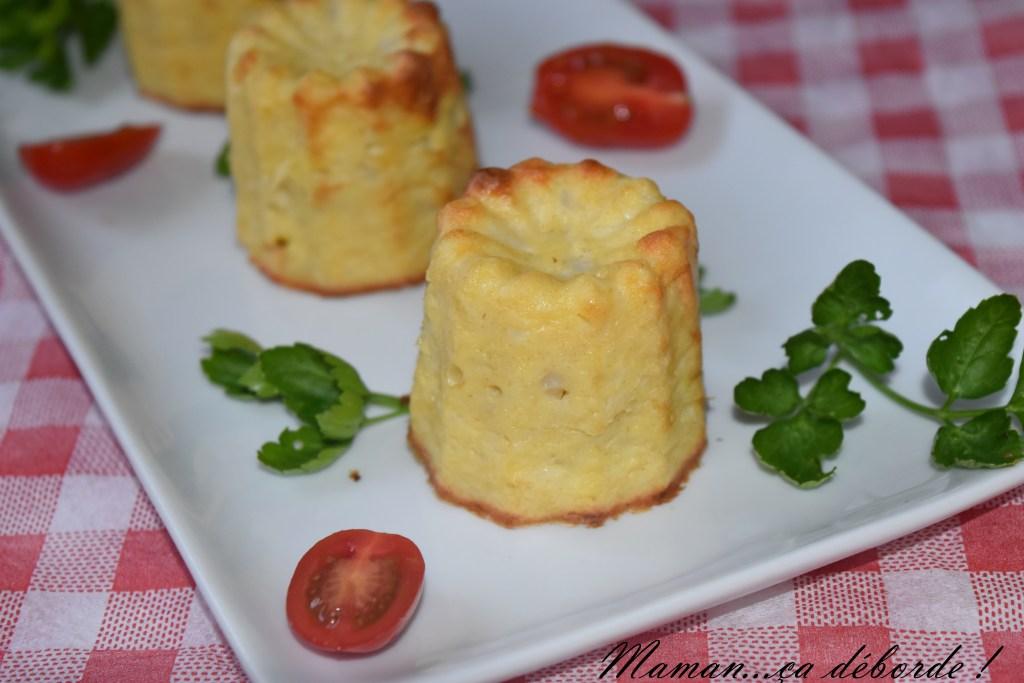 Cannelés au chou fleur et au parmesan
