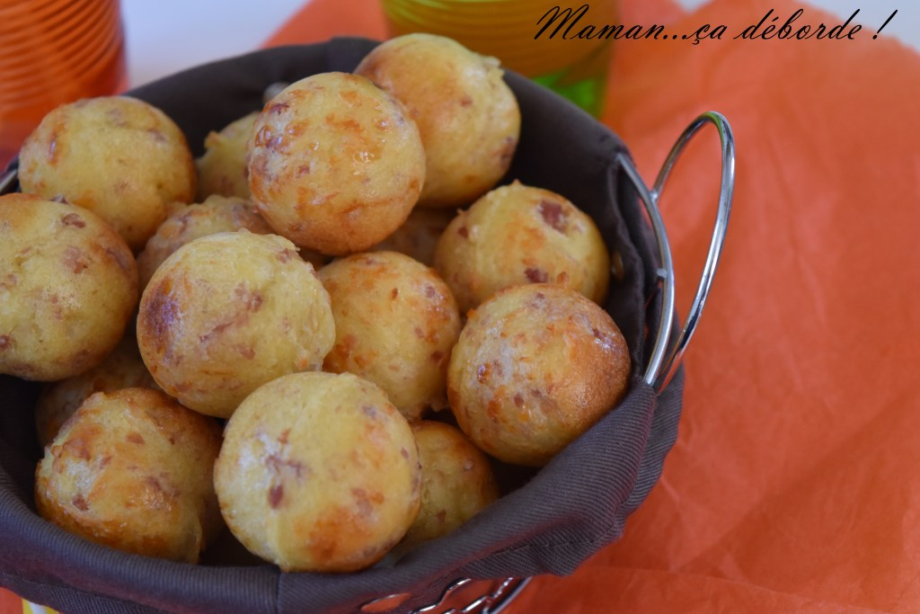 Pop cakes jambon fromage