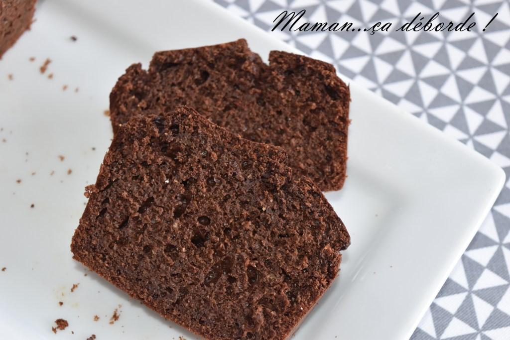 Cake chocolat et beurre de cacahuète