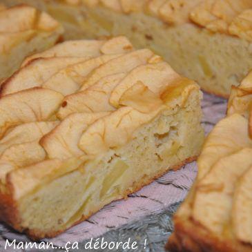 Gâteau pomme et ricotta