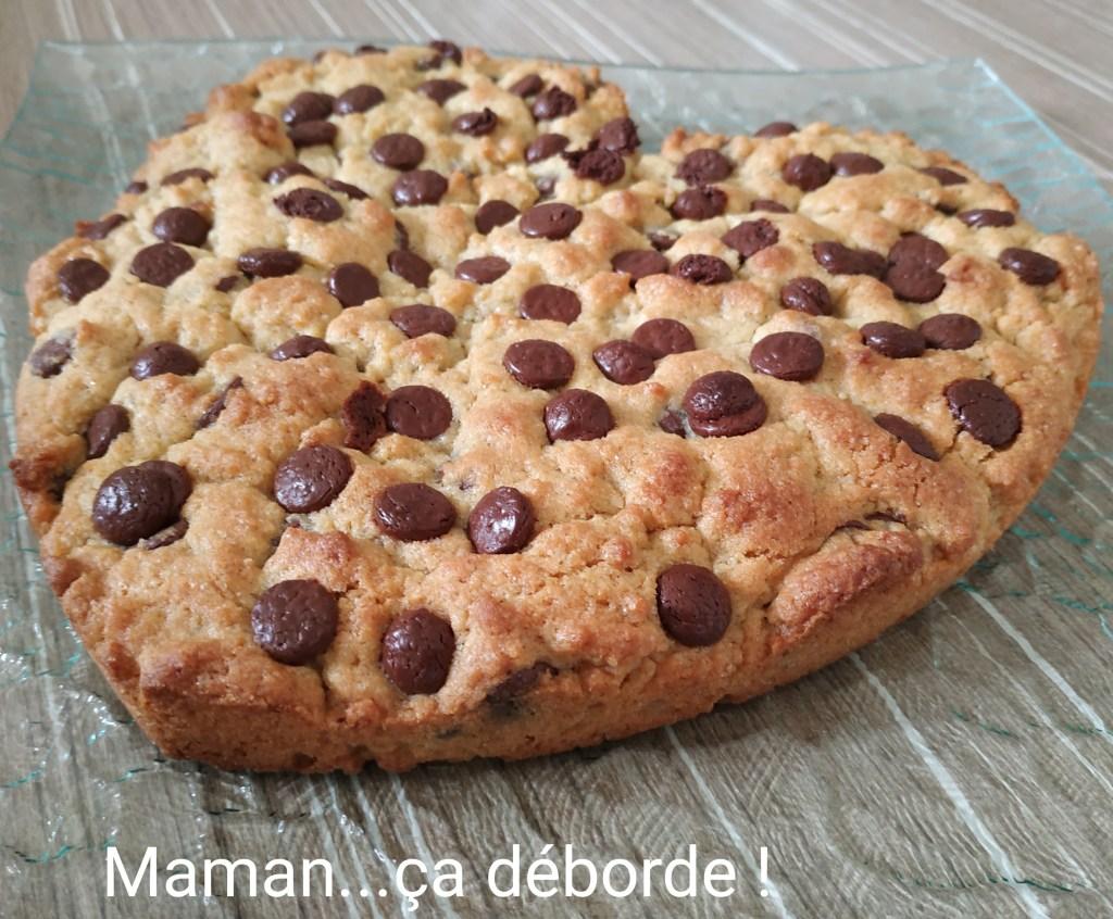 Cookie géant à partager