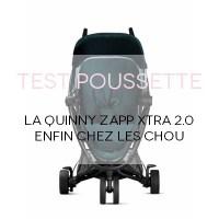 Quinny Zapp Xtra2, enfin chez les Chou!