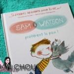 Sam & Watson préférent la paix