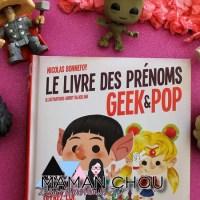 Le livre des prénoms Geek & Pop
