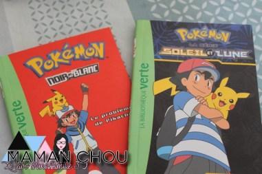 Les romans Pokémon