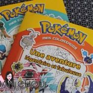 Pokémon mes coloriages - Une aventure légendaire et fabuleuse