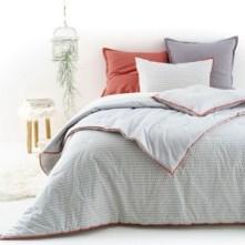 Couvre-lit et housse d'oreiller, DUO
