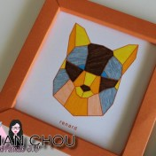 Cadres Origami Pirouette Cacahouète