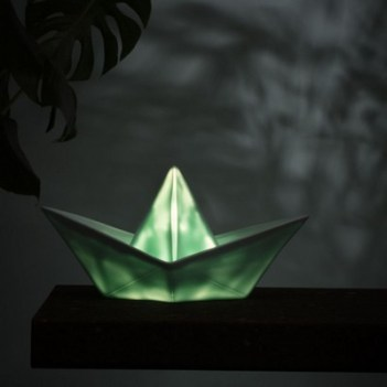 Lampe veilleuse Bâteau en vinyle Goodnight Light - Menthe