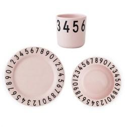 Kit repas Nombre Design Letters