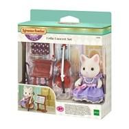 Sylvanian Families Town la fille chat soie et violoncelle