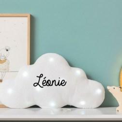 Veilleuse musicale à personnaliser nuage blanc Toi - même