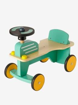 Tracteur porteur en bois