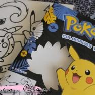 Pokémon coloriages velours
