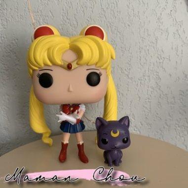Funko Pop Sailor Moon et Luna