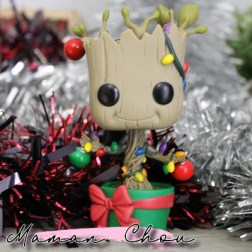Funko Pop marvel groot holiday
