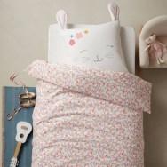 parure de lit lapin romantique