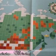 La carte du monde en stickers