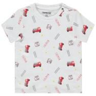 T-shirt manches courtes en coton bio