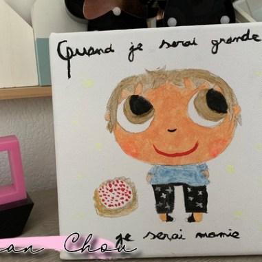 """Le tableau """"Quand je serai grande""""..."""