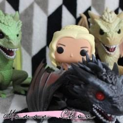 FUNKO POP - Game of Thrones - Daenerys on Drogon rider