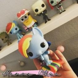 FUNKO POP - MLP - Rainbow Dash sea pony