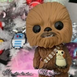 FUNKO POP - Star Wars - Chewbacca with Porg