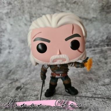FUNKO POP - The Witcher - Geralt Igni Funko Club