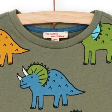 Tee Shirt Manches Courtes vert
