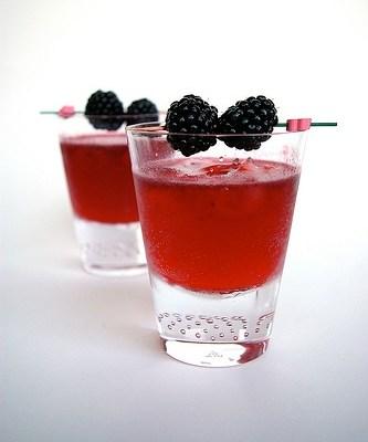 Gin tonic especial me la sudas (o Gin&Tonic de frutos rojos)