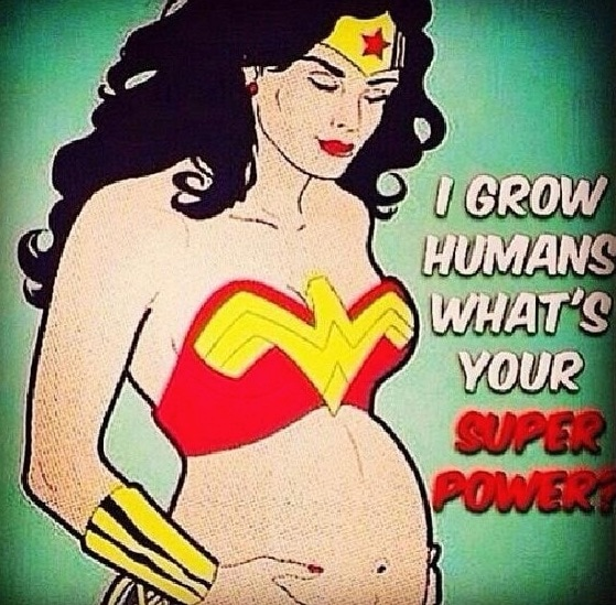 pregnant_superwoman