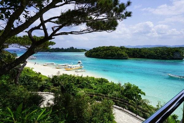 Kabira bay en Ishigaki