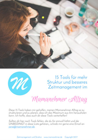 Zeitmanagement Tools Cover