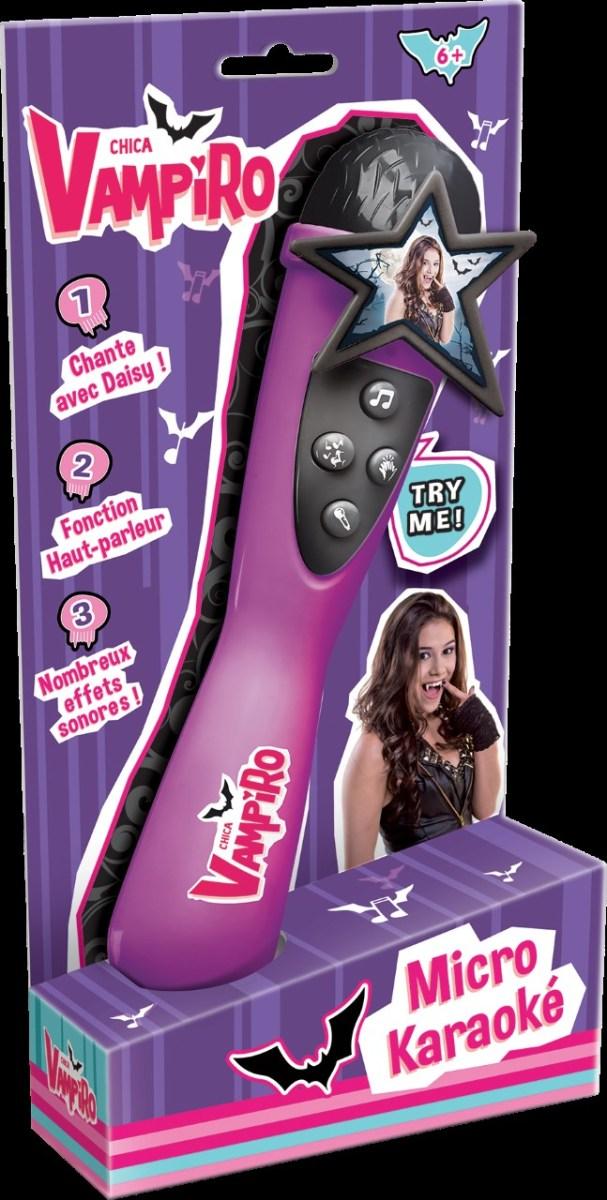 Chipie teste le micro Karaoké Chica Vampiro de chez canal Toys