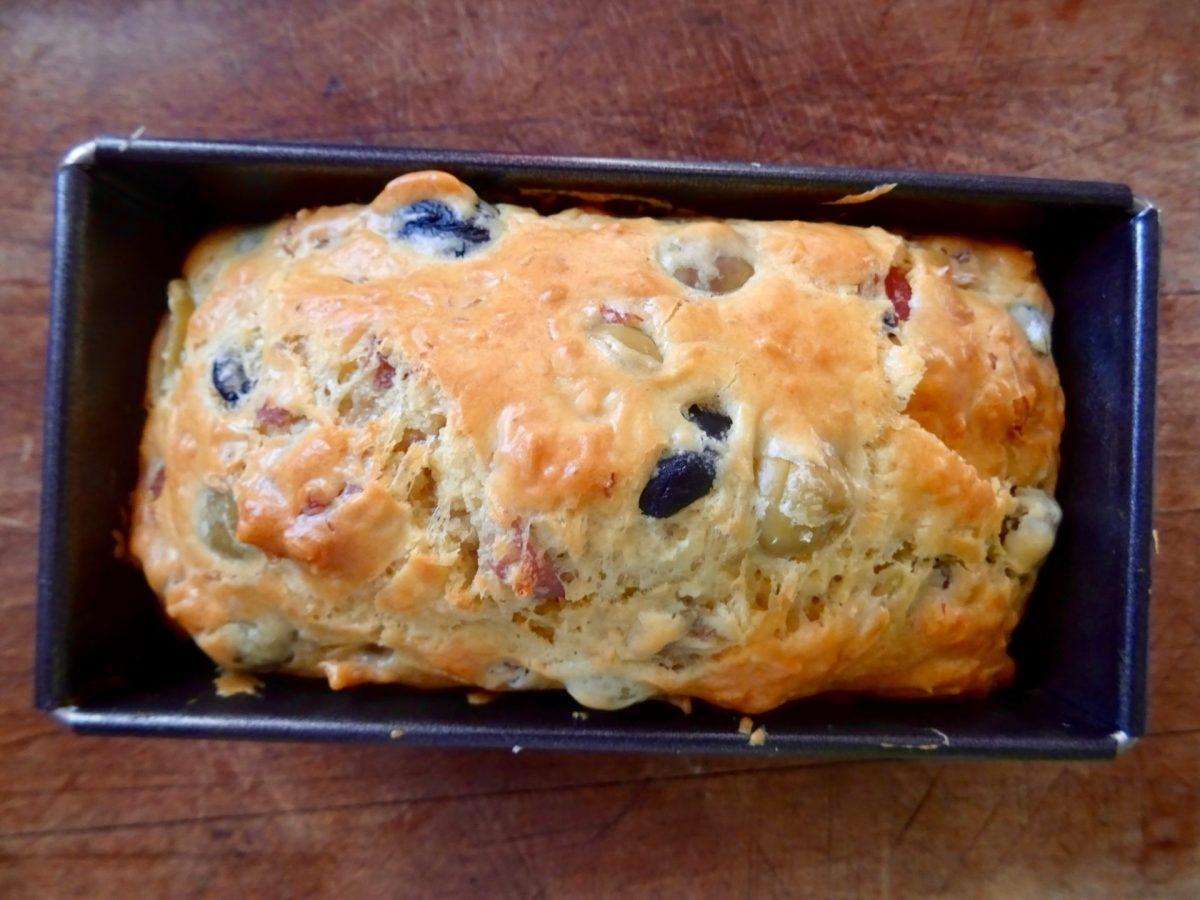 Ma recette du cake au jambon et aux olives