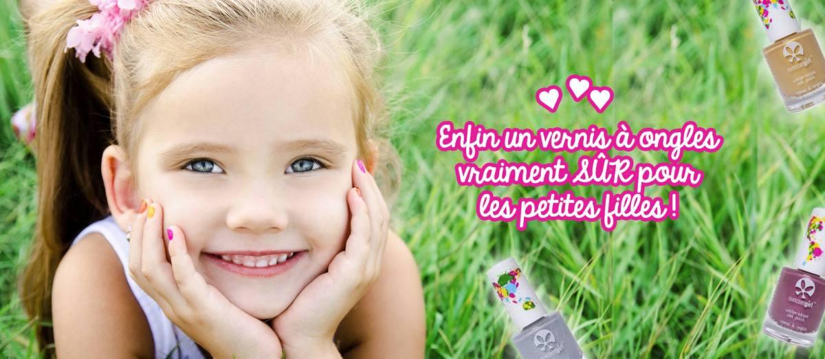 Les vernis enfant à l'eau SunCoatGirl France pour les chipies coquettes