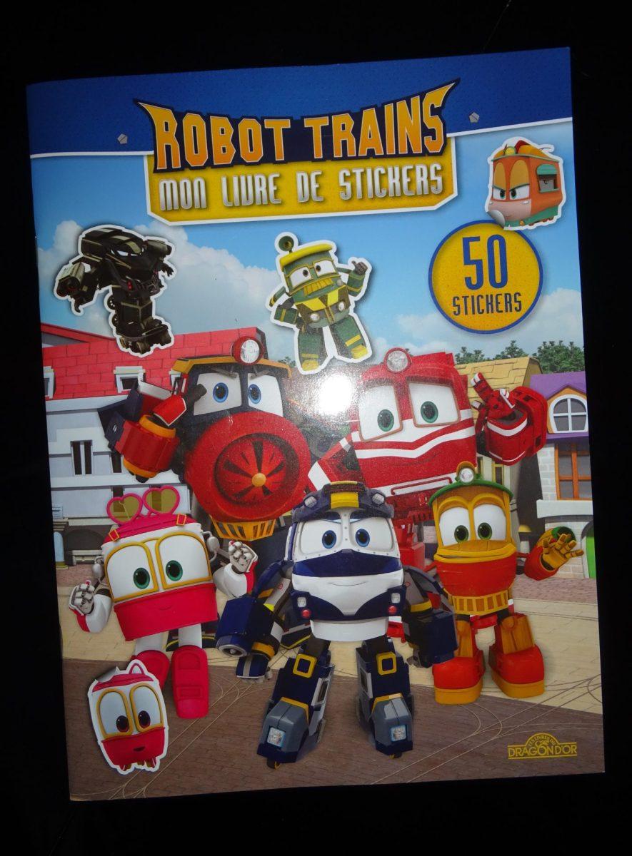 On découvre le dessin animé Robot Train en livre avec les éditions du Dragon d'Or