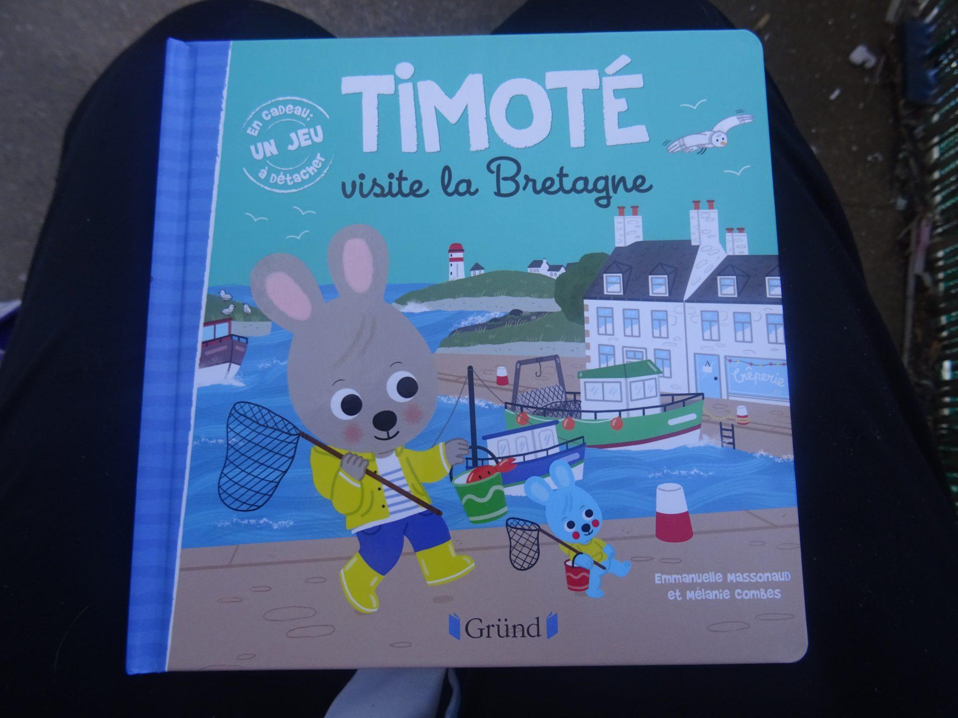 Timoté nous fait visiter la Bretagne avec Gründ Jeunesse
