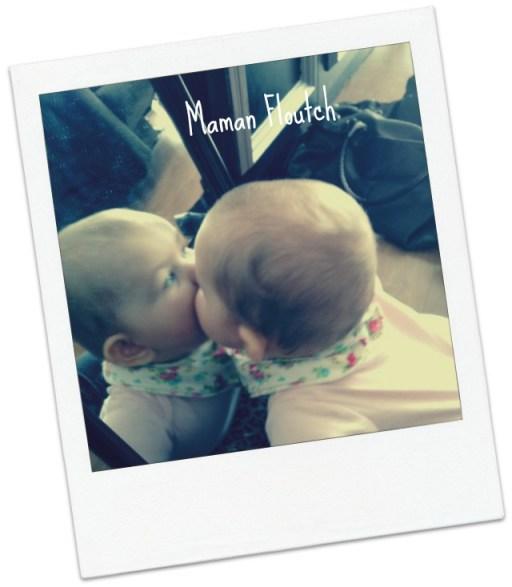 bébé miroir