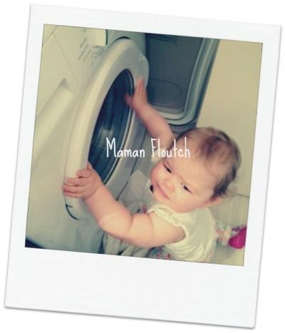 bébé machine a laver