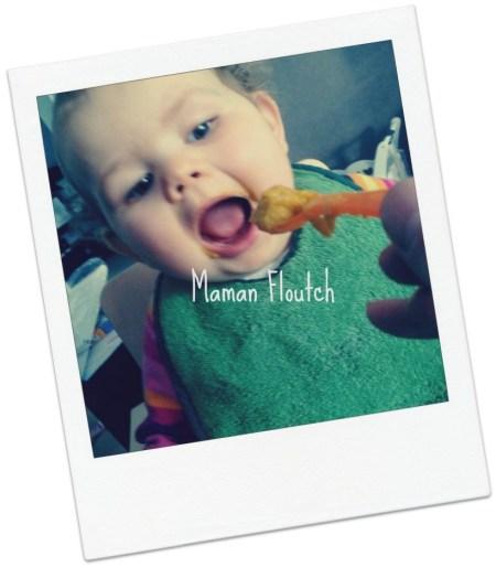 repas bébé purée