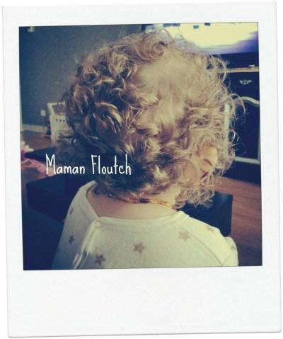 cheveux frisés bébé