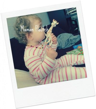 bébé dents 16 mois