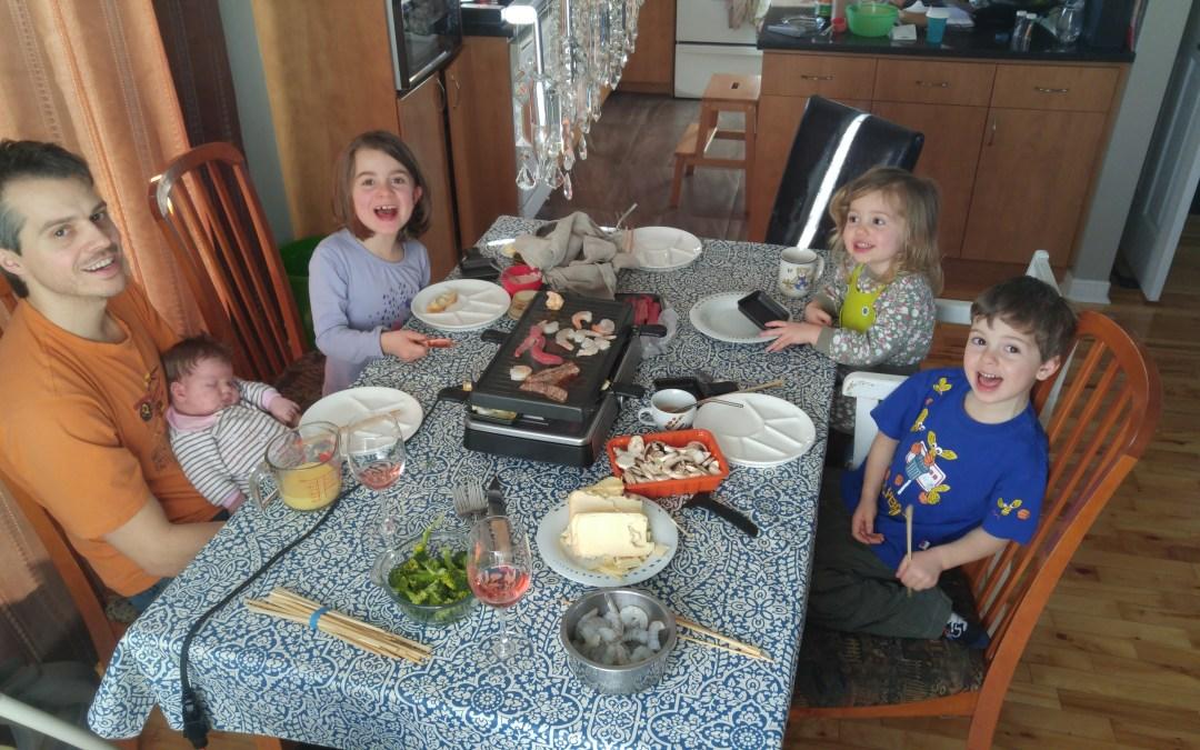 À la conquête des repas calmes et paisibles en famille