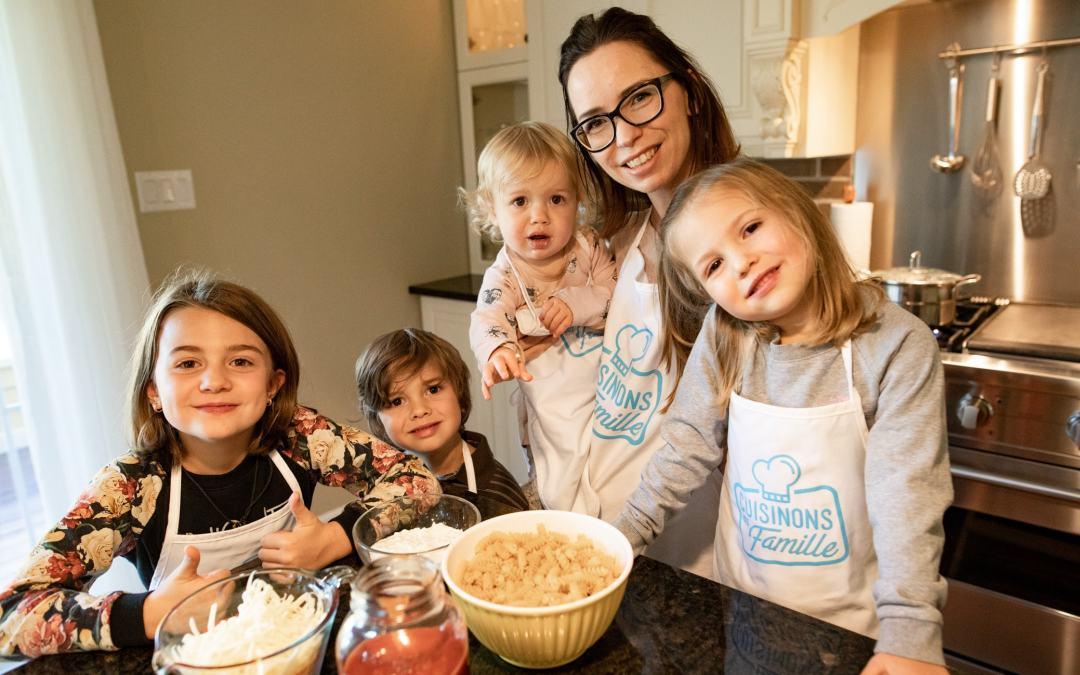Cuisinons en famille : du plaisir menant tout droit à l'autonomie