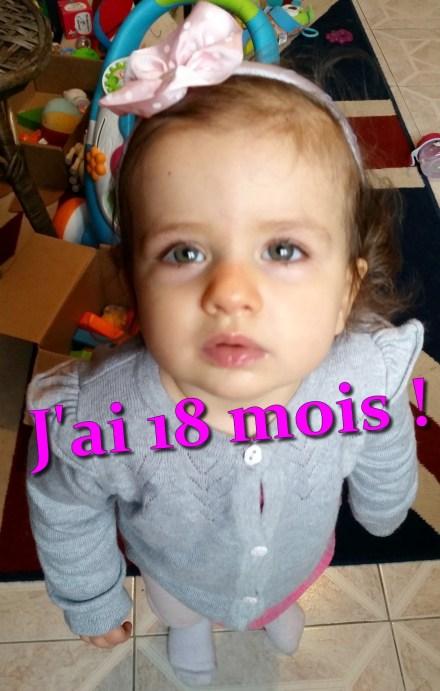 nenette 18 mois