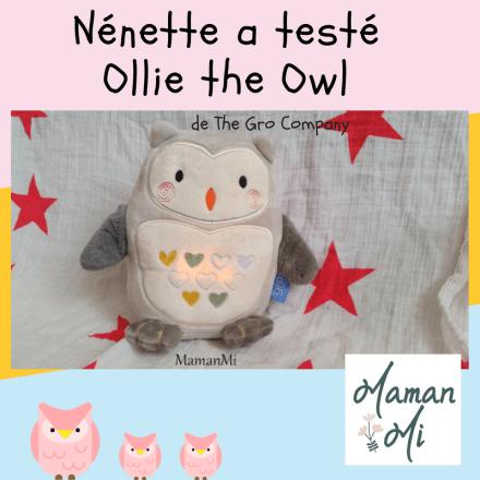 Test Ollie the owl The gro Company MamanMi 2018