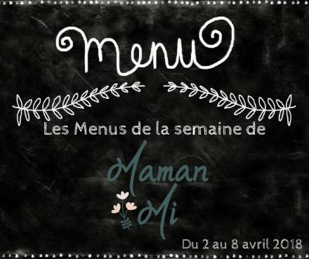 Les Menus de la semaine de MamanMi 13