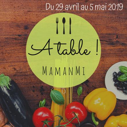 A table mamanmi 14