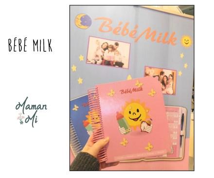 bébé milk journal alimentation bébé salon des familles maman mi
